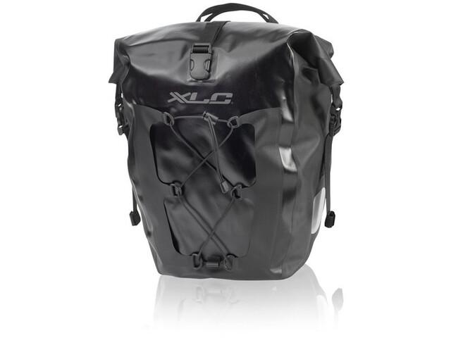 XLC Single Pannier Set Waterproof, black
